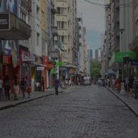 Centro Histórico registra queda no fluxo de pessoas