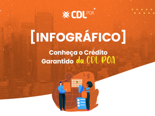 INFOGRÁFICO CONHEÇA O CRÉDITO GARANTIDO DA CDL POA
